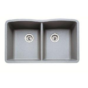 Blanco 440183 Diamond Undermount Double Bowl Kitchen Sink
