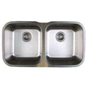 Blanco 441020 Stellar Undermount Double Bowl Kitchen Sink