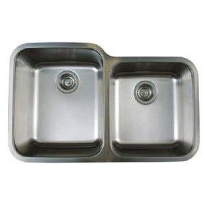 Blanco 441023 Stellar Undermount Double Bowl Kitchen Sink