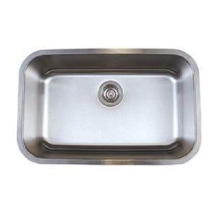 Blanco 441024 Stellar Undermount Single Bowl Kitchen Sink