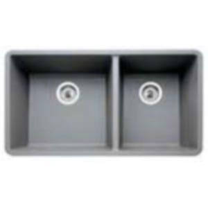 Blanco 441130 Silgranit Undermount Double Bowl Kitchen Sink