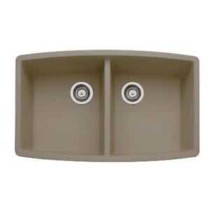 Blanco 441290 Performa Undermount Double Bowl Kitchen Sink