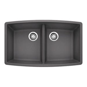 Blanco 441473 Performa Undermount Double Bowl Kitchen Sink