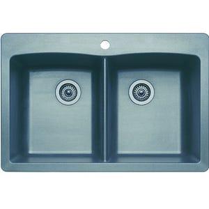 Blanco 440219 Diamond Double Bowl Kitchen Sink