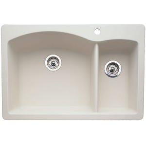 Blanco 440201 Diamond Double Bowl Kitchen Sink