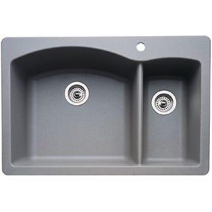 Blanco 440198 Diamond Double Bowl Kitchen Sink