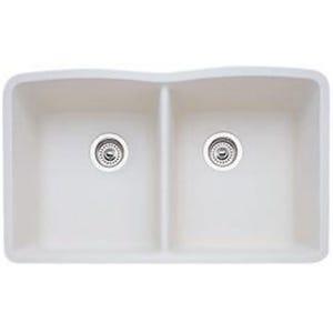 Blanco 440186 Diamond Undermount Double Bowl Kitchen Sink