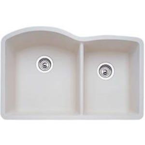 Blanco 440181 Diamond Undermount Double Bowl Kitchen Sink