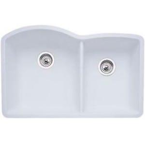 Blanco 440180 Diamond Undermount Double Bowl Kitchen Sink