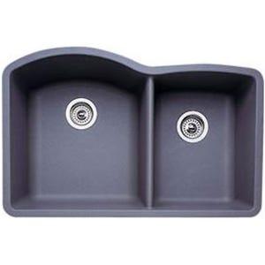 Blanco 440178 Diamond Undermount Double Bowl Kitchen Sink