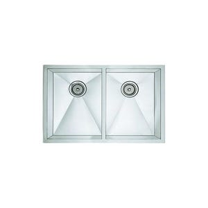 Blanco 516211 Precision Undermount Double Bowl Kitchen Sink