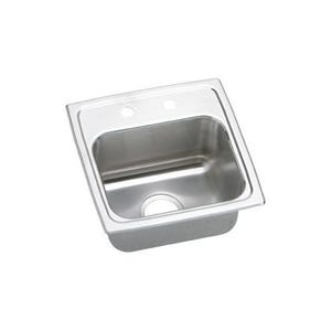 Elkay BLR15163 Lustertone Single Bowl Kitchen Sink