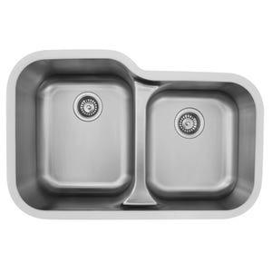 Karran Edge E-360R Undermount Double Bowl Sink