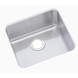 Elkay ELUH1212 Gourmet Undermount Single Bowl Kitchen Sink