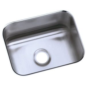 Elkay ELUH129 Lustertone Undermount Single Bowl Kitchen Sink