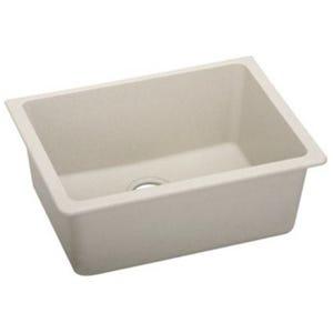 Elkay ELGU2522BQ0 Gourmet E- Granite Single Bowl Kitchen Sink