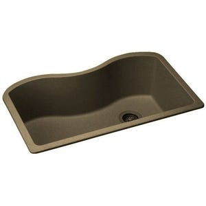 Elkay ELGUS3322RMC0 Harmony E-Granite Single Bowl Kitchen Sink