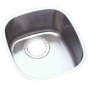 Elkay ELUH1113 Lustertone Undermount Single Bowl Kitchen Sink