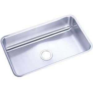 Elkay ELUH281612 Lustertone Undermount Single Bowl Kitchen Sink