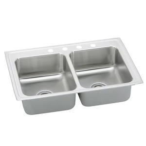 Elkay PSR33224 Pacemaker Double Bowl Kitchen Sink