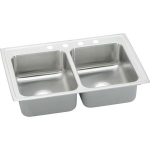 Elkay PSR43224 Pacemaker Double Bowl Kitchen Sink