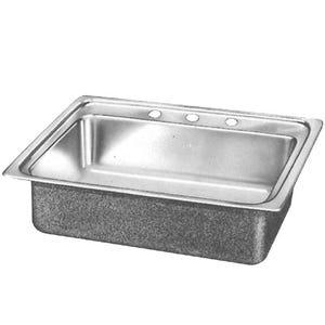 Elkay LR15173 Lustertone Single Bowl Kitchen Sink