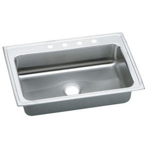 Elkay LRS33224 Single Bowl Kitchen Sink