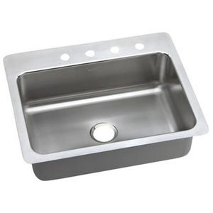 Elkay LSR27223 Gourmet Single Bowl Kitchen Sink