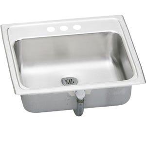 Elkay PSLVR19173 Pacemaker Self Rimming Bathroom Sink