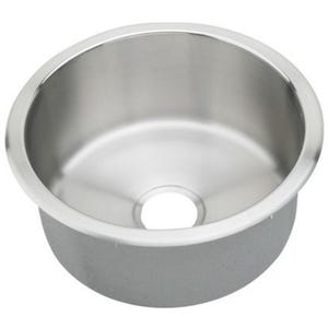Elkay RLR16FB Lustertone Single Bowl Kitchen Sink