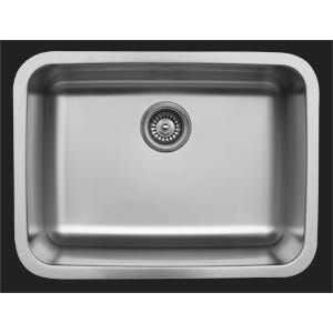 Karran U-2418 Single Bowl Kitchen Sink