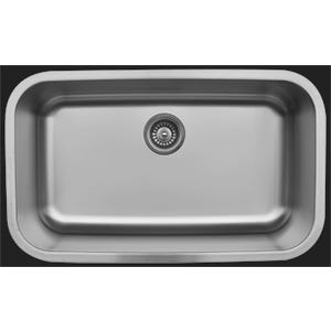 Karran U-3018 Large Single Bowl Kitchen Sink