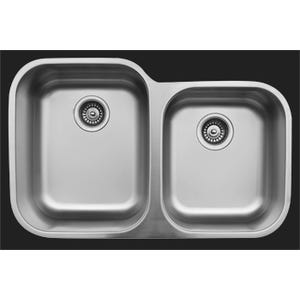 Karran U-6040R Large/Small Bowl Kitchen Sink
