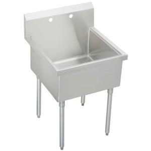 Elkay WNSF81242 Weldbilt Utility Commercial Sink