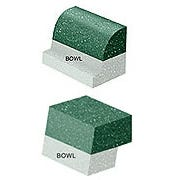 Undermount Bowl Router Bits for Corian(R) Bowl No. 874-S w/ Ultra-Glide(TM) Bearing-Roundover