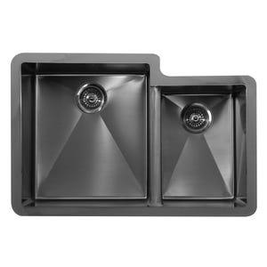 Karran Edge E-560R Stainless Steel Large/Small Bowl Kitchen Sink