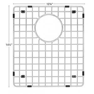 """Karran GR-6017 Stainless Steel Bottom Grid 12-3/4"""" x 14-1/2"""" fits QT-720/QU-720"""