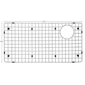 """Karran GR-6020 Stainless Steel Bottom Grid 13-3/4"""" x 27-3/4"""" fits on QT-722 and QU-722"""