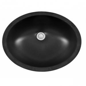 "Karran 19"" Seamless Undermount Quartz Vanity Sink"