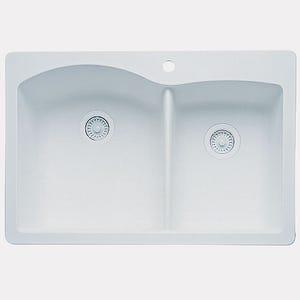 Blanco 440216 Diamond Double Bowl Kitchen Sink