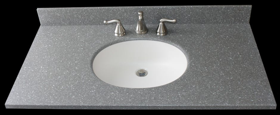 Integral Solid Surface Undermount Corian Model 810