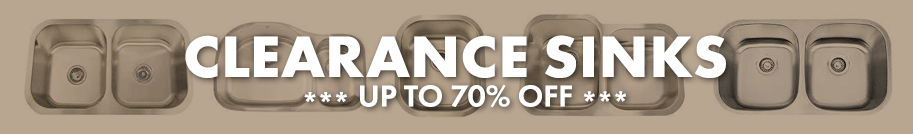 Clearance Sinks - Up to 70% Off